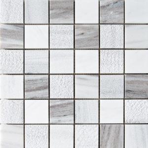 Skyline&avenza Textured 5x5 Marble Mosaics 30,5x30,5