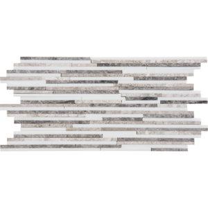 Granada Blend Polished Bamboo Marble Mosaics 15,2x30,5