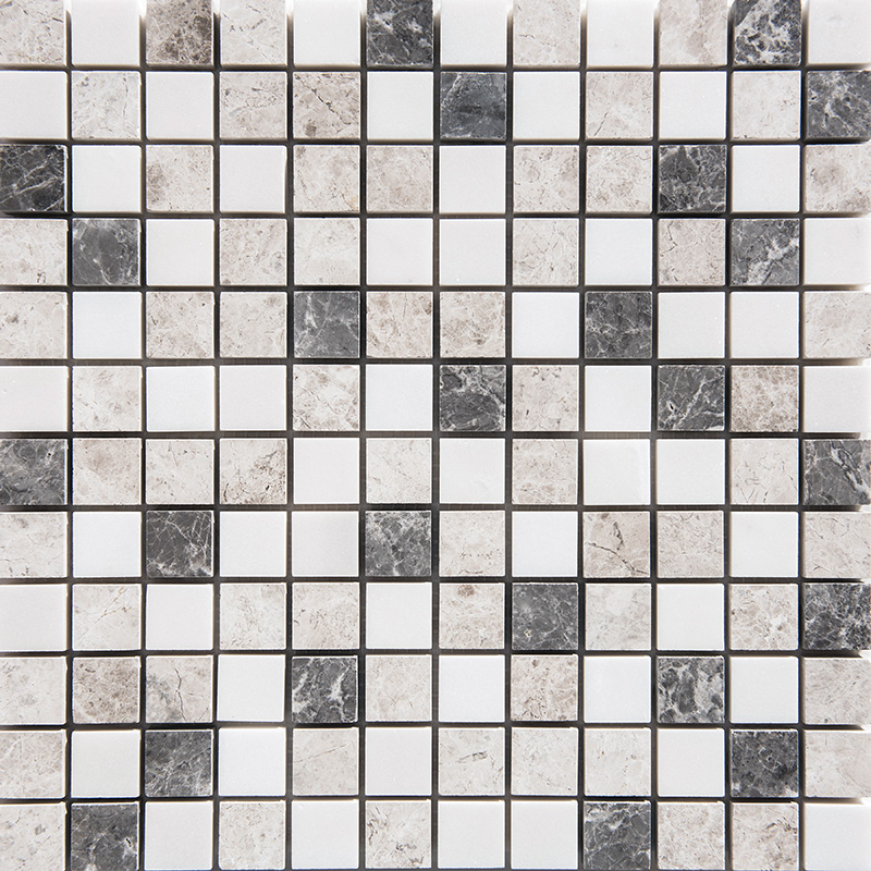 Granada Blend Polished 2,3×2,3 Marble Mosaics 30,5×30,5
