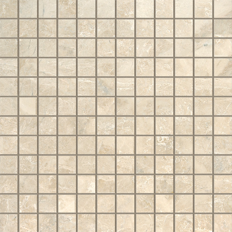 Cappuccino Polished 1×1 Marble Mosaics 30,5×30,5