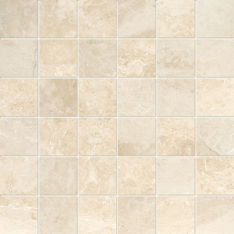 Cappuccino Polished 2×2 Marble Mosaics 30,5×30,5
