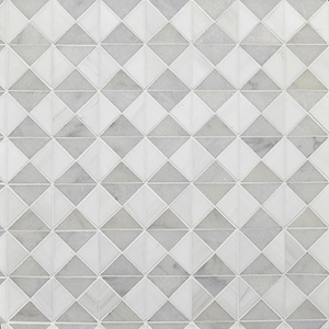 Avalon, Glacier, Snow White Multi Finish Devon Marble Mosaics 31,7x31,7