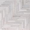 Skyline Full Grain Large Herringbone Marble Mosaics 32,70x21,74