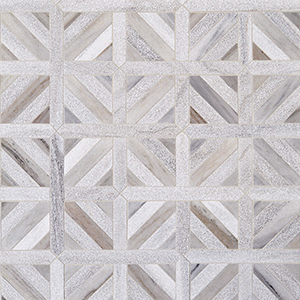 Skyline Multi Finish Ponte Basket Marble Mosaics 37,7x37,7