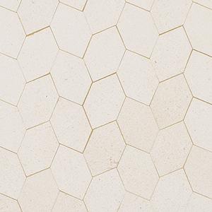 Champagne Honed Autumn Leaf Marble Mosaics 30x34,5