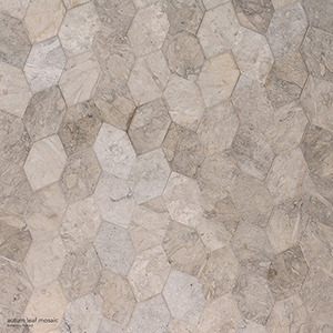 Britannia Honed Autumn Leaf Limestone Mosaics 30x34,5