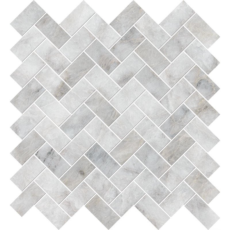Alloy Polished 30,5x33,5 Herringbone Marble Mosaics