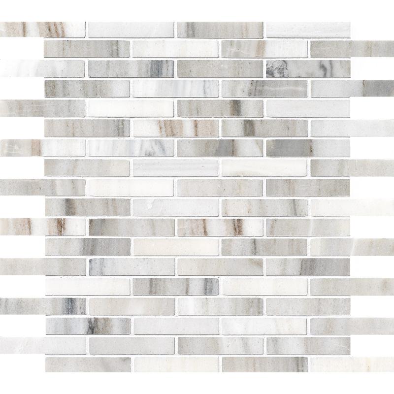 Skyline Honed 1,5×7,6 Marble Mosaics 30,5×30,5