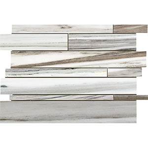 Verona Blend Honed Slides Marble Mosaics 28x43