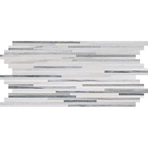 Skyline Honed Bamboo Marble Mosaics 15,2x30,5