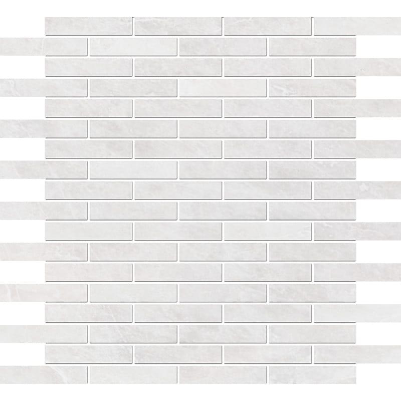 Iceberg Polished 1,5×7,6 Marble Mosaics 30,5×30,5