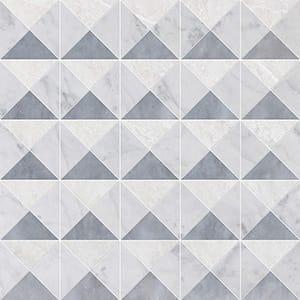 Iceberg, Avenza, Allure Multi Finish Devon Marble Mosaics 31x31
