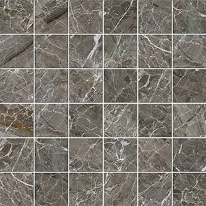 Arctic Gray Polished 5x5 Marble Mosaics 30,5x30,5