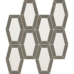 Champagne, Bosphorus Honed Lincoln Limestone Mosaics 26x32,5