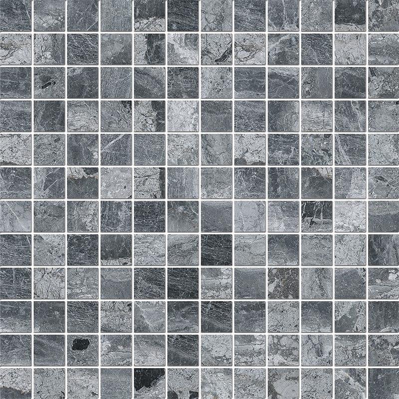 Haisa Black Polished 2,3×2,3 Marble Mosaics 30,5×30,5