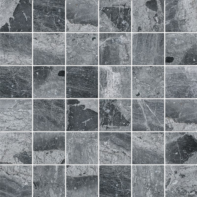 Haisa Black Polished 5×5 Marble Mosaics 30,5×30,5