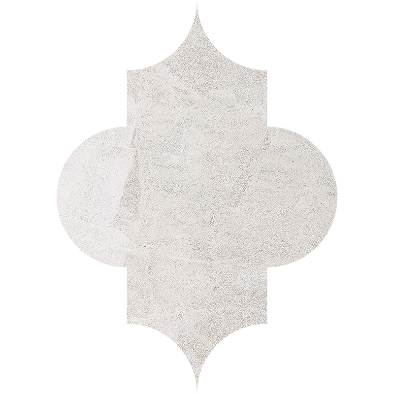 Diana Royal Leather 20x28 Arabesque Marble Waterjet Decos