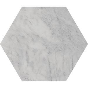 Avenza Honed Hexagon Marble Waterjet Decos 14,5x12,5