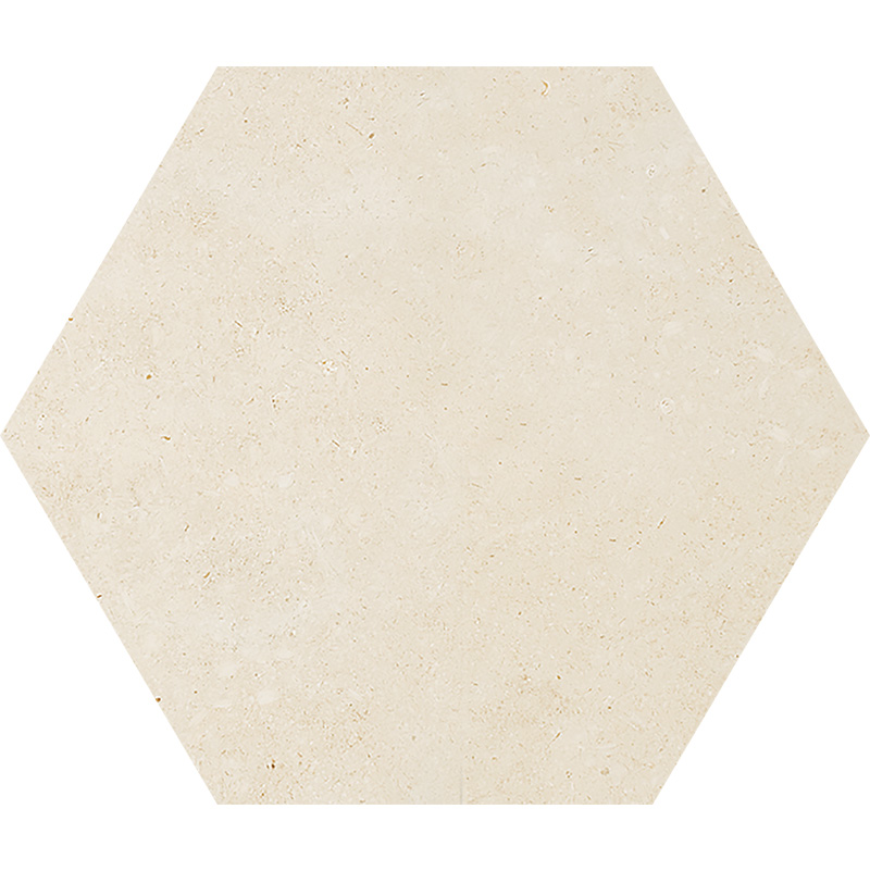 Casablanca Honed 14,5x12,5 Hexagon Limestone Waterjet Decos