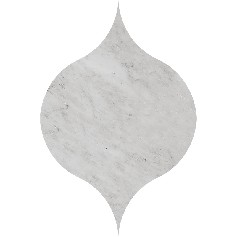 Avenza Honed&polished 12,5x17,5 Winter Leaf Marble Waterjet Decos