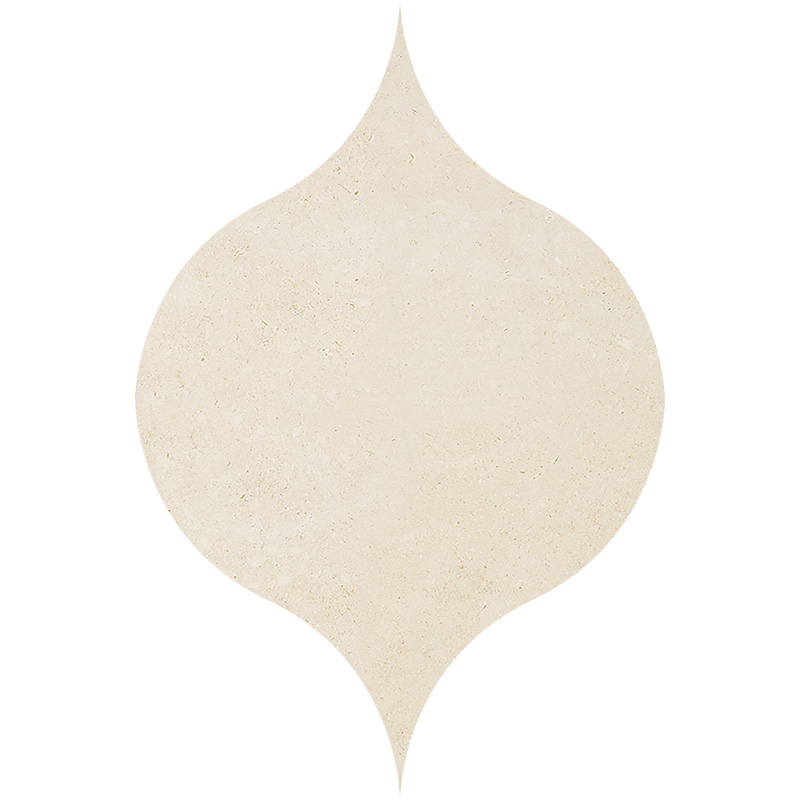 Casablanca Honed 12,5x17,5 Winter Leaf Limestone Waterjet Decos