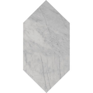 Avenza Honed Large Picket Marble Waterjet Decos 15x30,5