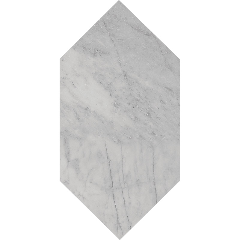 Avenza Honed 15x30,5 Large Picket Marble Waterjet Decos
