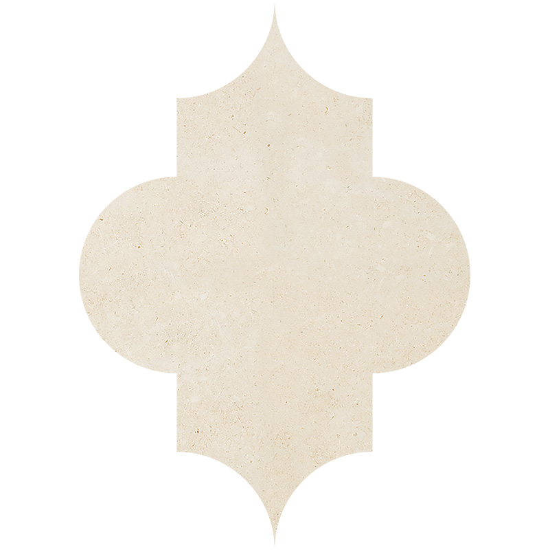 Casablanca Honed 20x27,94 Arabesque Limestone Waterjet Decos