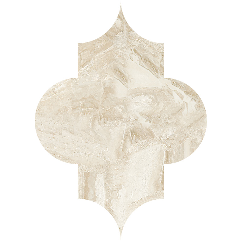 Diana Royal Polished 20x27,94 Arabesque Marble Waterjet Decos