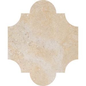 Seashell Honed San Felipe Limestone Waterjet Decos 20x24,77