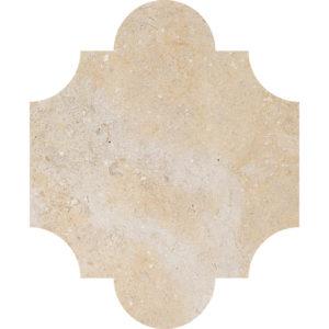 Seashell Honed San Felipe Limestone Waterjet Decos 20x24,77