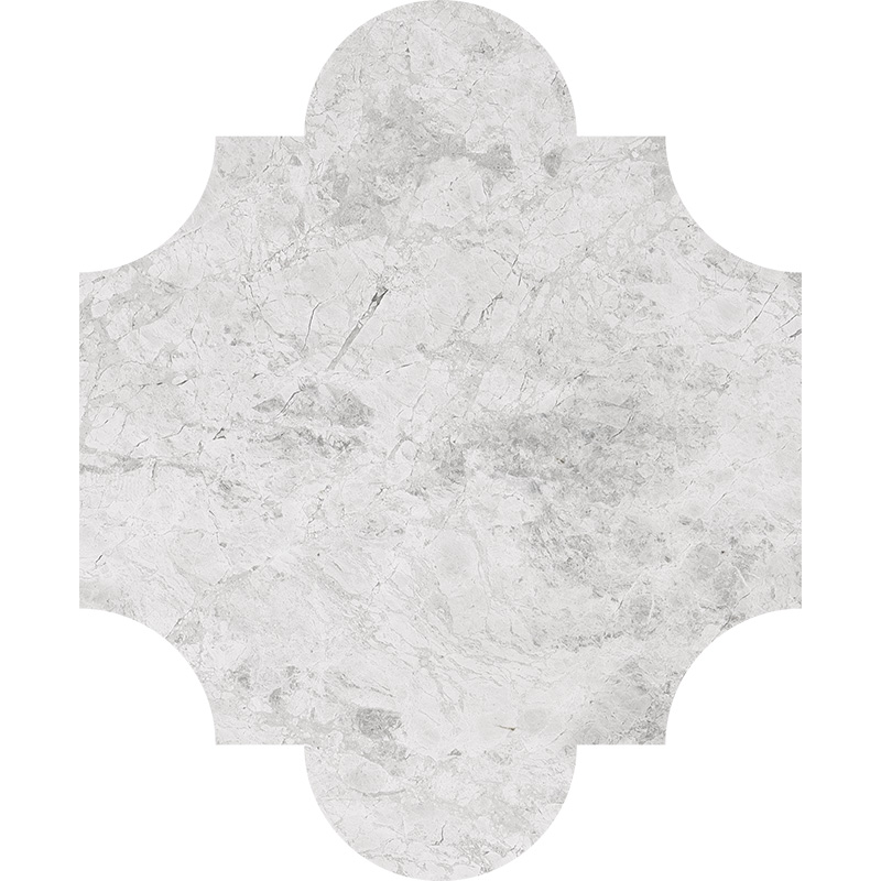 Silver Clouds Polished 20x24,77 San Felipe Marble Waterjet Decos