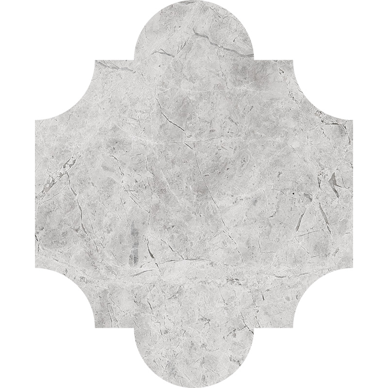 Silver Shadow Honed 20x24,77 San Felipe Marble Waterjet Decos
