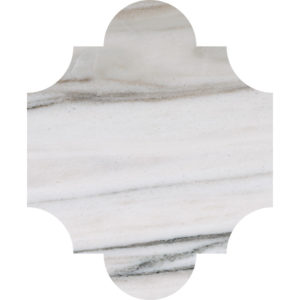 Skyline Polished San Felipe Marble Waterjet Decos 20x24,77