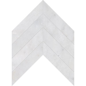 Avalon Polished Chevron Marble Waterjet Decos 33x25,4
