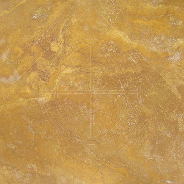 Golden Sienna Honed&filled Random 3 Cm Travertine Slab