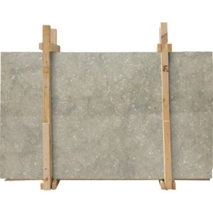 Olive Green Honed Limestone Slab Custom