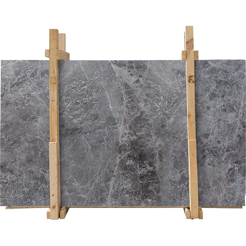 Baltic Gray Polished Marble Slab Custom