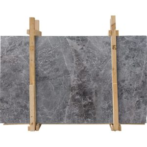 Baltic Gray Honed Marble Slab Custom