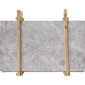 Baltic Gray Leather Marble Slab Custom
