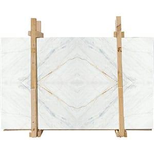 Fantasy White Honed Marble Slab 2 Cm, 3 Cm