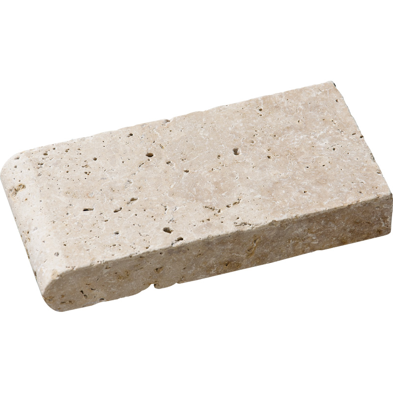 Ivory Tumbled 10x20 Pool Coping Travertine Pool Copings