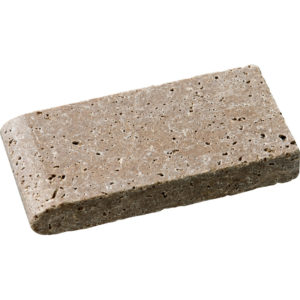 Walnut Dark Tumbled Pool Coping Travertine Pool Copings 10x20