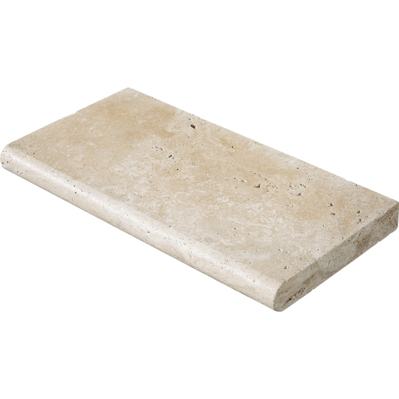 Ivory Tumbled 30,5x61 Pool Coping Travertine Pool Copings