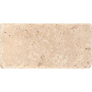 Ivory Tumbled Travertine Tiles 7,6x15,2
