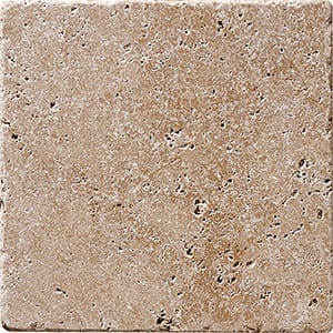Walnut Dark Tumbled Travertine Tiles 30,5x30,5
