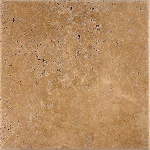 Walnut Dark Antiqued Travertine Tiles 30,5x30,5