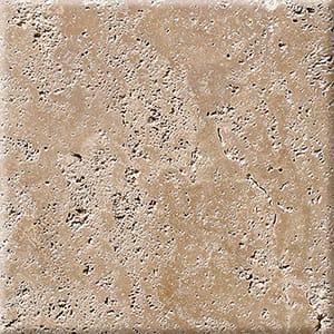 Walnut Dark Antiqued Travertine Tiles 40,6x40,6