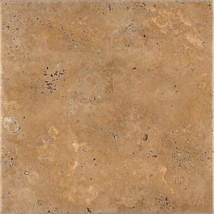 Walnut Dark Antiqued Travertine Tiles 45,7x45,7