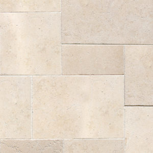 Seashell Antiqued Limestone Patterns Grand Villa Pattern